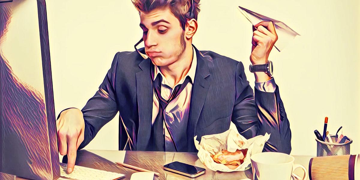 Как работать не во вред себе