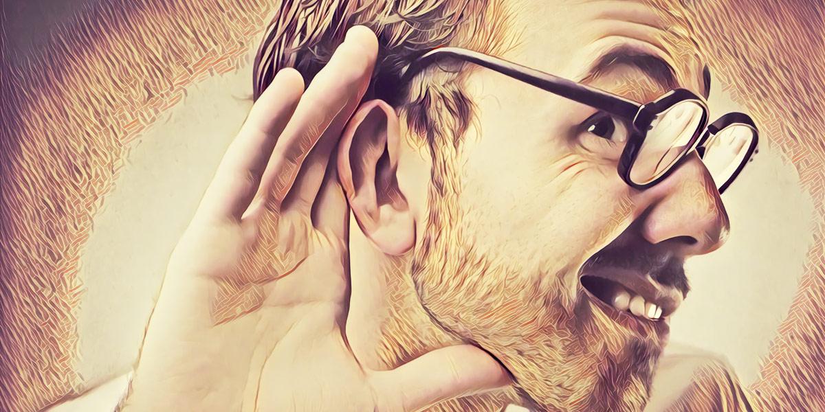 Умейте не только говорить, но и слушать