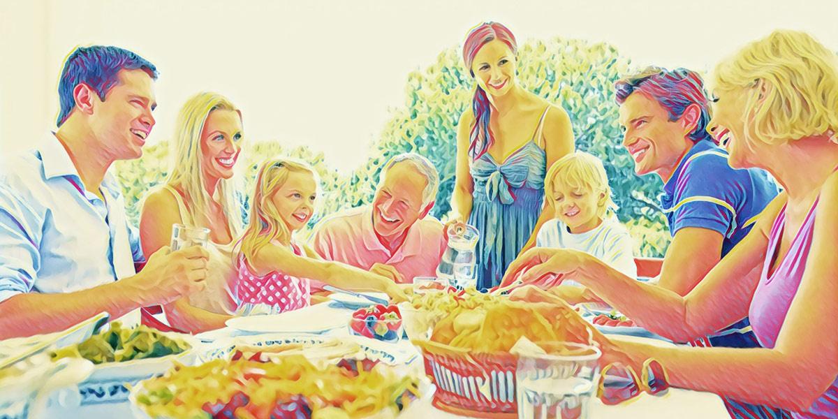 Как общаться с родственниками?