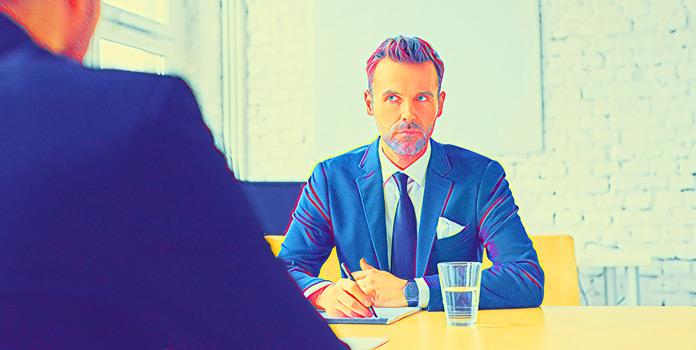 Собеседование на работу: Диалог