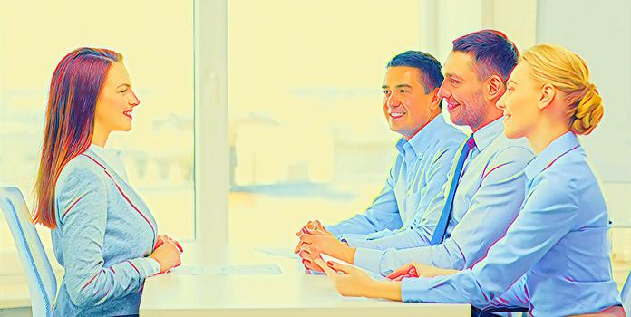 Собеседование на работу: Как красиво сидеть