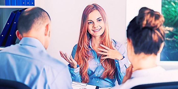 Собеседование на работу: Жесты