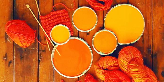 Оранжевый цвет