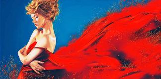 Красный цвет в психологии