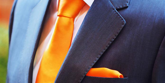 Оранжевый цвет для мужчин