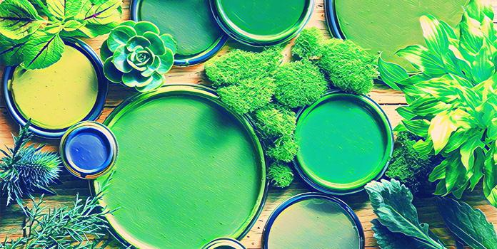 Оттенки зелёного