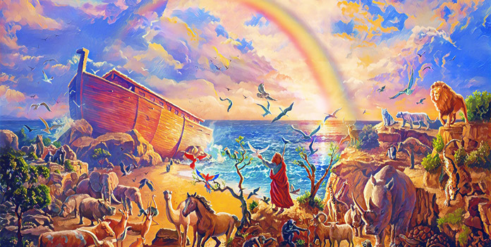 Всемирный потоп и радуга