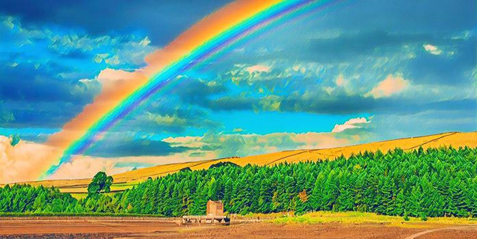 Сколько в радуге цветов— три или миллион?