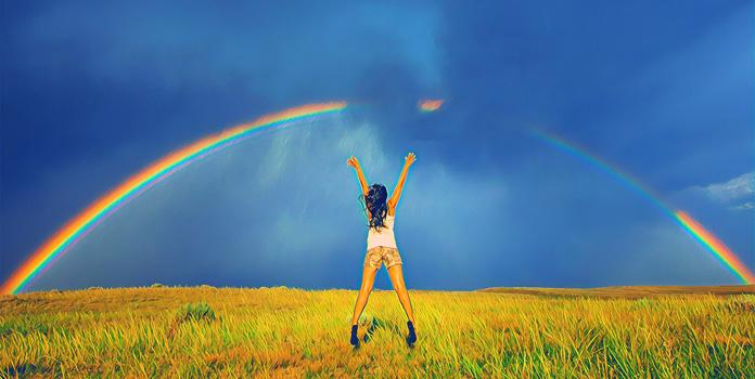 Запоминалки и стихи о радуге