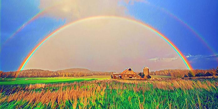 Приметы погоды, связанные с радугой