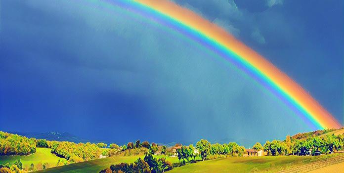 Откуда возникла радуга, и какой она бывает