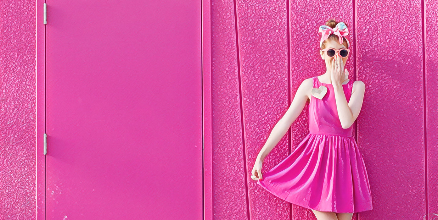 Розовый цвет в психологии