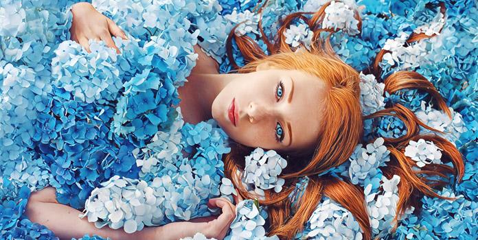 Голубой цвет в психологии