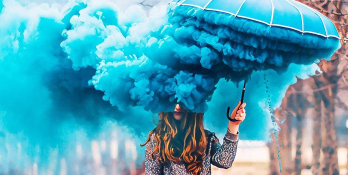 Отрицательное воздействие голубого