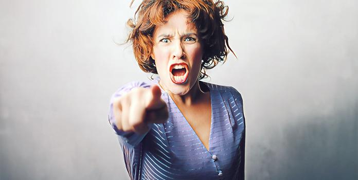 Проявления агрессии у женщин