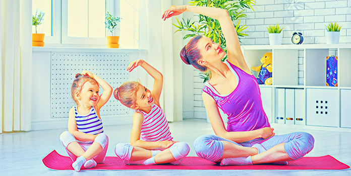 Виды физической активности для самых маленьких